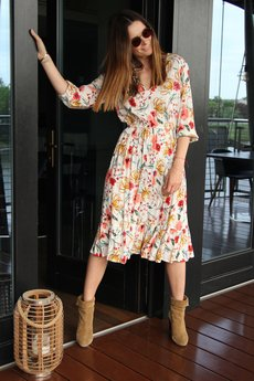 BLACKBOW - Sukienka Kaia Midi