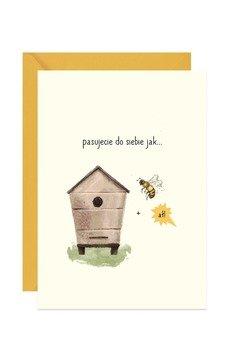 PAPERWORDS - Ślubna kartka z rebusem