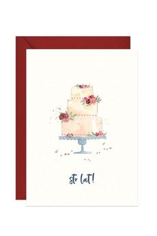 PAPERWORDS - Urodzinowa kartka z tortem