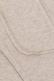 MeMola - Bluzka z tencelu z łatami DIANA