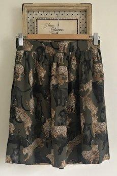 On You - Spódnica Tygrysy MINI Khaki