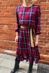 Sukienka z falbana viva