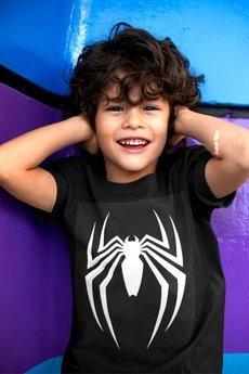 MY! OH MY Kids - T shirt SPIDER BLACK & maseczka