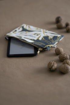 Oak Root - Zestaw 3 kosmetyczek z lnem