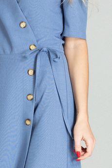 FIGL - Sukienka M703 Niebieski