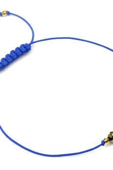 Brazi Druse Jewelry - Bransoletka Hematyt Złoty Sznurek