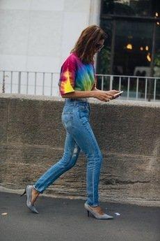MY! OH MY. old - T shirt RAINBOW