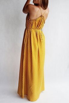 END OF THE DAY - Koralowa sukienka boho LIV