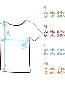 ONE MUG A DAY - Bordo czysty oversize tshirt s-xl