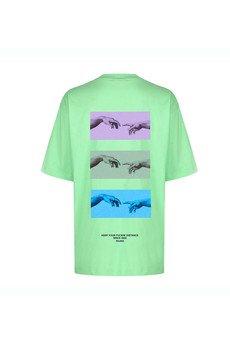 MAJORS - T shirt Keep Distance Lime