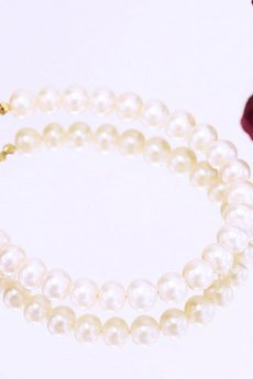 Brazi Druse Jewelry - Bransoletka Perły złoto