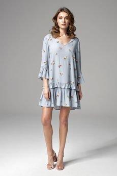 BLACKBOW - Sukienka Hollie Blue