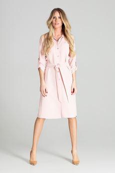FIGL - Sukienka M701 Róż
