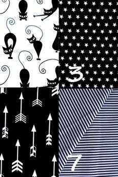 Karolina Audycka - Worek na ramię z plecionej tkaniny szary melanż