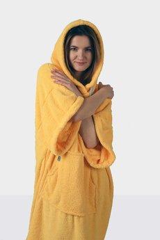 Surfponcho HugMe - HUG Sis żółty_rękaw