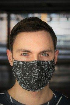 Hatafina  - Maska trzy warstwy SKULL