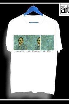 """Life is ART - T-shirt : """"VAN gone."""""""