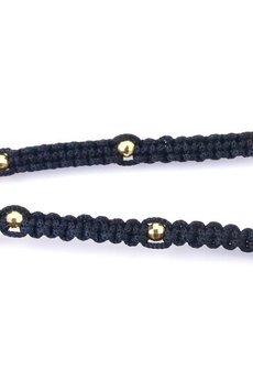 Brazi Druse Jewelry - Choker Muszle i Onyks złoto
