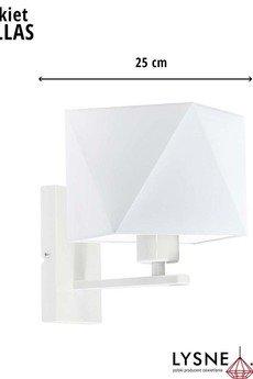 LYSNE - Oświetlenie do pokoju dziecka DALLAS stelaż biały
