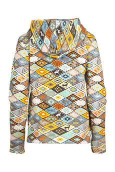 """Funaticos - Bluza """"Navajo"""" z musztardowym"""