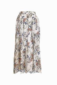 Elevenstory - Spódnica z rozporkami  REBECCA MATTE WHITE