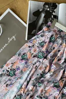Elevenstory - Spódnica z rozporkami  REBECCA LIGHT LILA