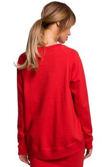 MOE - Bluzka z klamerkami na przodzie - M492