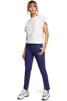 MOE - Spodnie z rozporkami - M493