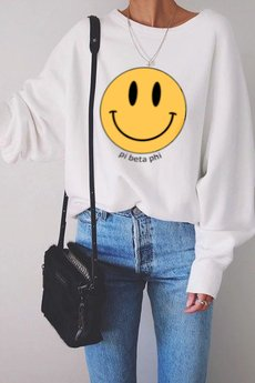 MY! OH MY. old - Bluza SMILEY
