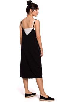 Be - Sukienka warstwowa na ramiączkach - B154