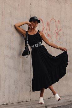 Ooh la la - Bawełniana sukienka maxi Bali