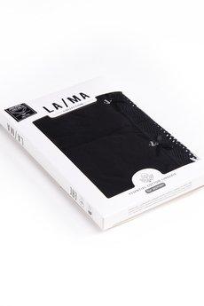 Lama - LA/MA figi BASIC czarne koronka 2x