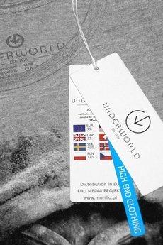 Underworld - Koszulka UNDERWORLD Ring spun cotton Logo
