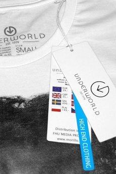 Underworld - Koszulka UNDERWORLD Ring spun cotton Ćma