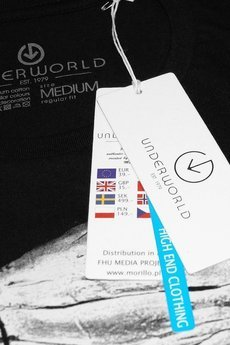 Underworld - Koszulka UNDERWORLD Ring spun cotton World