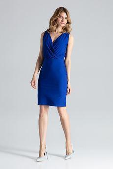 FIGL - Sukienka135 Niebieski
