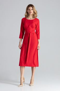 FIGL - Sukienka631 Czerwony