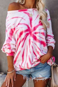 MY! OH MY. old - Bluza Pink Wave