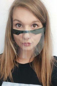 GAWOR - Maska ochronna półprzyłbica osłona twarzy
