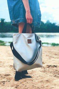 Militu - Plecak/torba Mili Urban Jungle L - srebrny