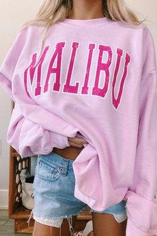 MY! OH MY. old - Bluza PINK MALIBU