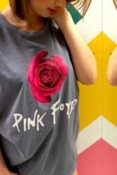 MY! OH MY. old - T shirt Pink Rose