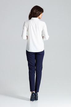 LENITIF - Koszula L036 Ecru