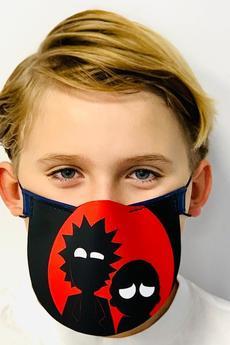 GAWOR - Maska ochronna półprzyłbica wzór Rick & Morty