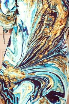 numoco - 281-3 SOPHIE Wygodna sukienka Oversize