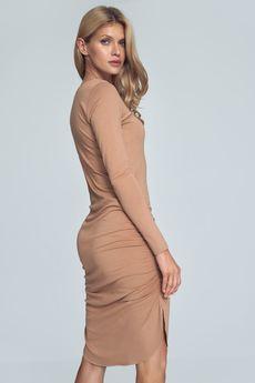 FIGL - Sukienka M714 Beż