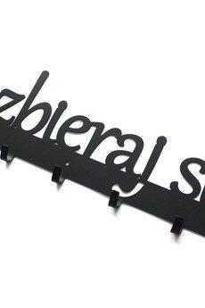 Art-Steel - Rozbieraj się 60cm wieszak na ubrania czarny