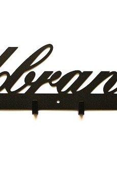 Art-Steel - Ubrania 50cm wieszak ścienny przedpokój