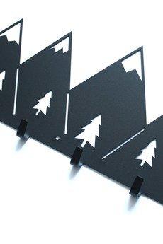 Art-Steel - Góry wieszak ścienny na ubrania dekoracja prezent