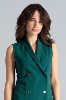 LENITIF - Sukienka L044 Zielony